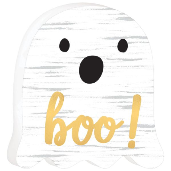 Boo Ghost MDF Sign